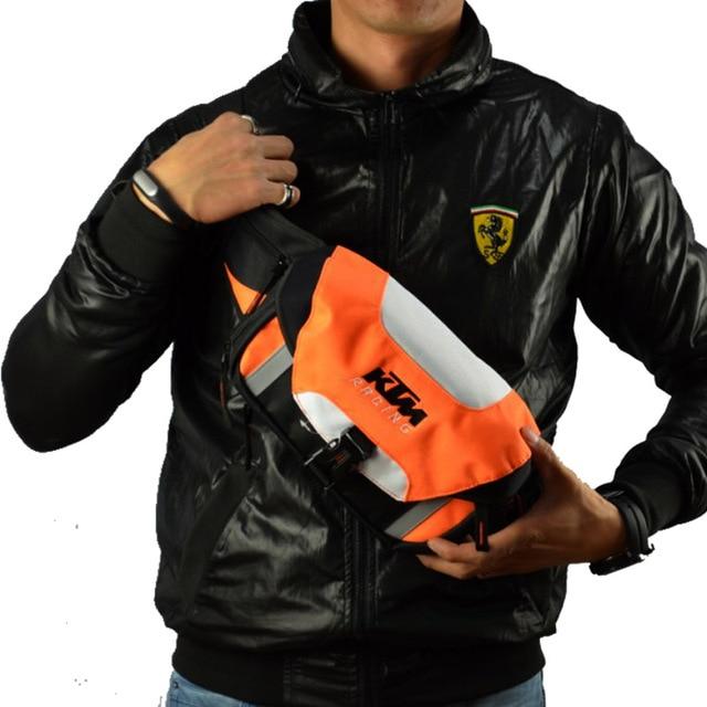 KTM Bicycle Bike Cycling Outdoor sport Motorcycle Cycling Fanny Pack Waist Belt Bag Shoulder Bag pack