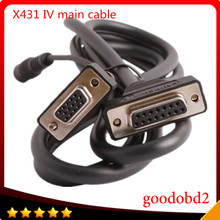 X431 IV Master Main Test Cable For Scanner Automotive Car Diagnostic Tool Test Cables fast arrival hantek1008a pc usb automotive diagnostic car test oscilloscope signal generator 8ch 2 4msa s vehicle test
