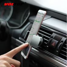 VOLTOP Air Outlet Phone Holder Car Accessories Ornament Car Interior Supplies Clamping Firm Mobile Phone Support Driving Safety