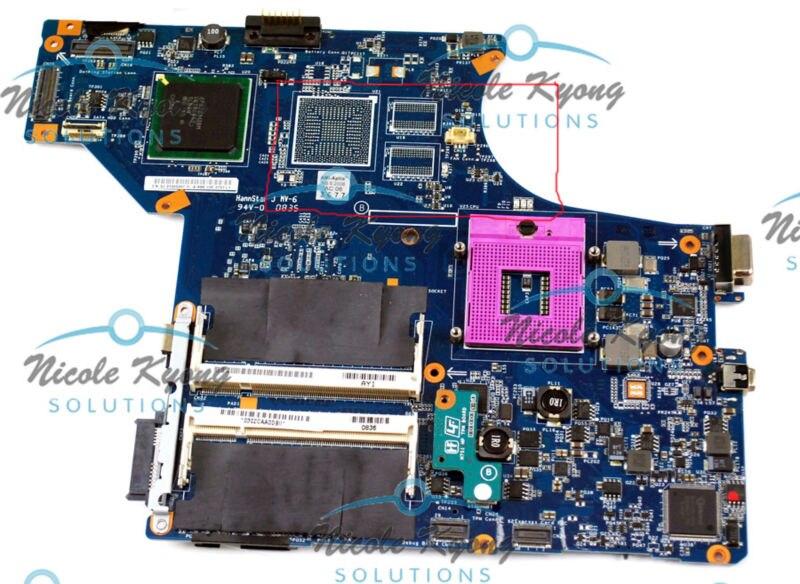 M751 MBX-190 Rev1.1 1P-0088500-A011 1P-0087100-A011 A1567125A A1660901A MotherBoard for Vaio VGN-SR Series VGN-SR290 VGN-SR240 m753h mbx 190 1p 0092j00 8011 a1567127a pm45 non integrated motherboard for vaio vgn sr series
