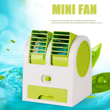 New upgrade Mini portable hand held desk air conditioner humidification cooler cooling fan