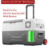 30L Frige -20 Degrees 12V Portable Compressor 24h Lithium Battery Life Car Refrigerator Mini Multi-Function Home Cooler Freezer