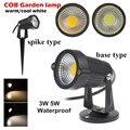9W 7W 5W 3W COB Outdoot Waterproof Led Garden Lamp LED Light 110 V 220V Outdoor Lighting led Garden Light Landscape spotlight