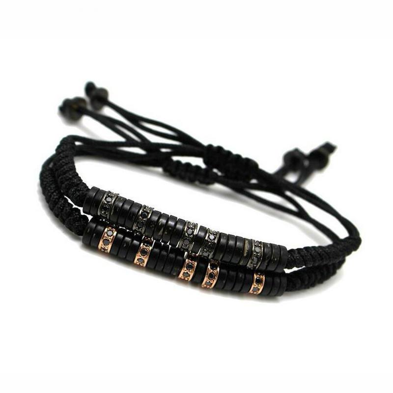 Anillo marke anil arjandas männer armband pflastern schwarz zirkon - Modeschmuck - Foto 5