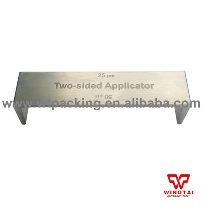 Precise Double Side Applicator Wet Film Thickness Tester 150,200 micron BGD202/3  цена и фото