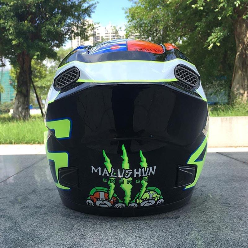 Locomotive motorcycle helmet run helmet ABS pure material racing Adult Motocross Off Road Helmet high quality chrome motocross helmet