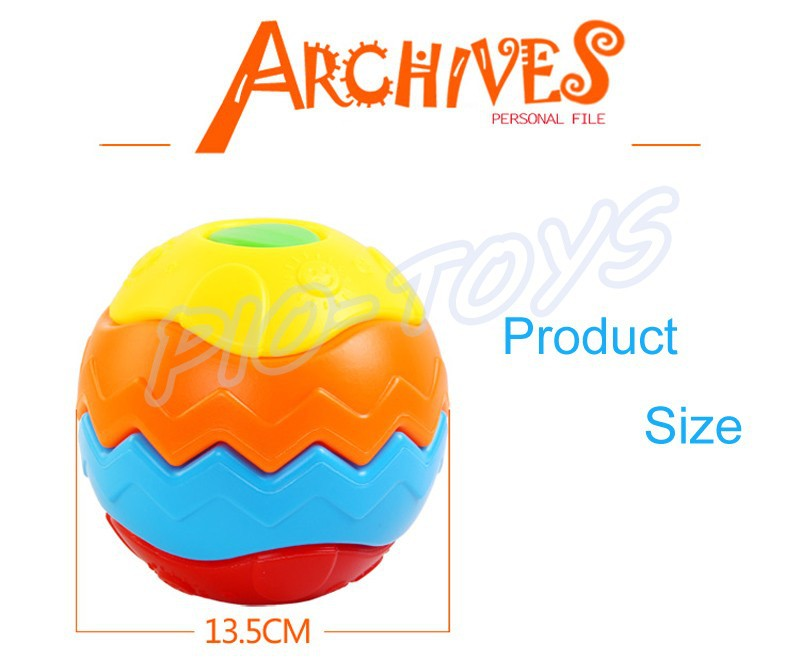 Hotsale Gift Baby Transformation Ball Magic Cubes Education Toys Puzzles Learning IQ Game For Kids Sport Children Building Model 11