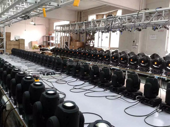 LED 30W Spots Licht DMX Stage Spot Moving 9/11 Kanalen Dj 8 Gobos Effect Podium Verlichting Mini LED Moving Hoofd Snelle Verzending