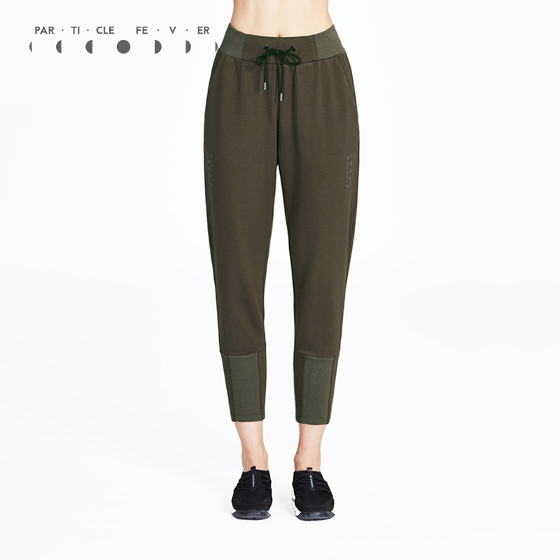 Particle Fever Three Colors Breathable Sports Leggings Spring Summer Running Sweatpants Women High Elastic Slim Exercise Pants
