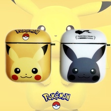 Cartoon Pokemons Pikachus Wireless Bluetooth Earphone Case For Apple AirPods 2&1 Silicone Charging