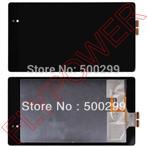 100% warranty  LCD Screen Display with Touch Screen digitizer Assembly  For ASUS Google Nexus 7  II 2nd Tab 2 by free shipping new lcd touch screen digitizer with frame assembly for lg google nexus 5 d820 d821 free shipping