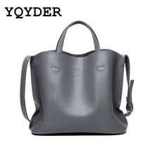 Designer Leather Female Handbags Women bag 2 set Famous Brands Bolsos Mujer High Quality Shoulder Bag