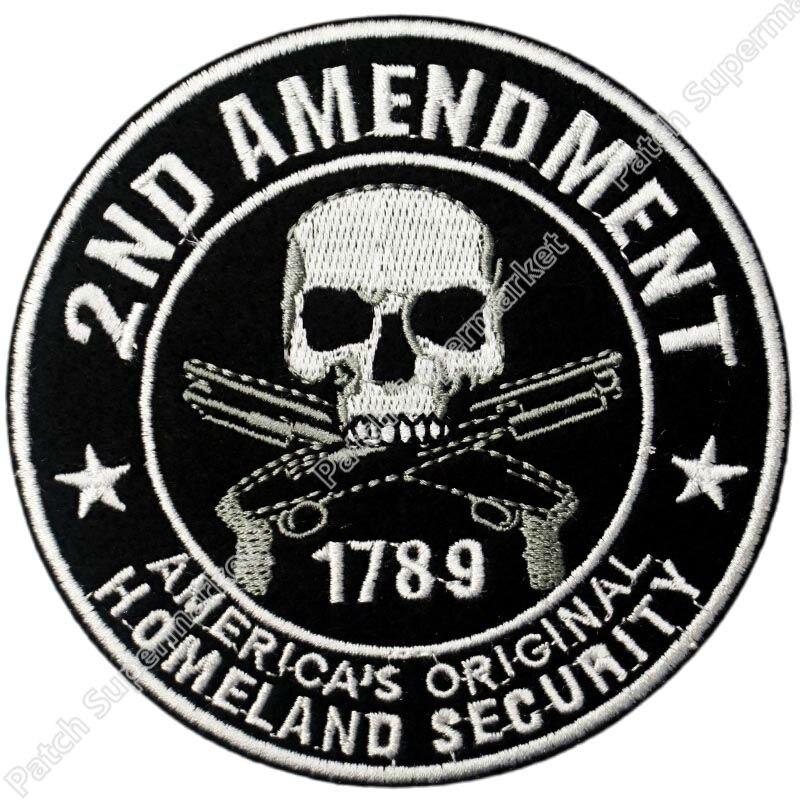 """/""""2ND AMENDMENT  1789 AMERICA/'S ORIGINAL HOMELAND SECURITY/""""   3 X 5 Flag."""