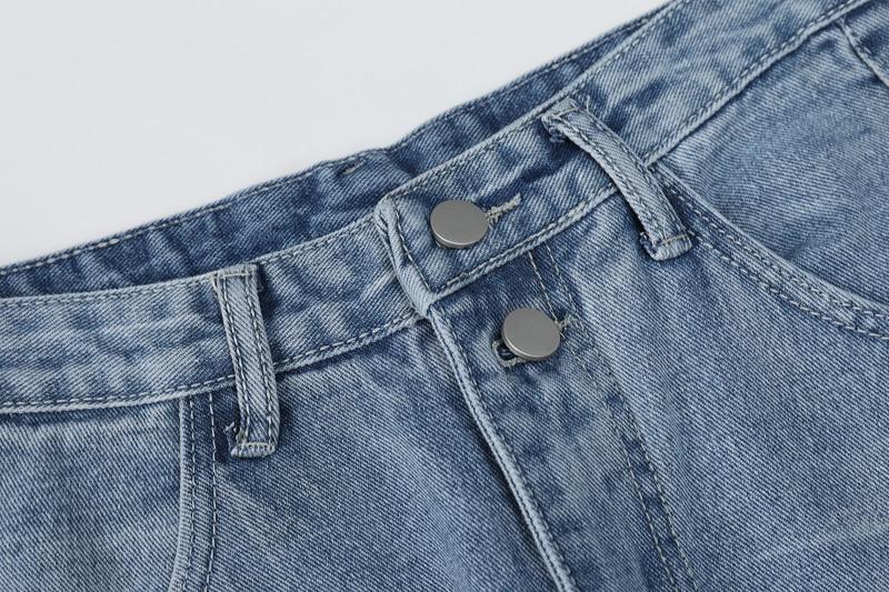 De 2019 Adelgazar Verano Vaqueros Elástica Moda Nueva Azul Las Mujeres Y Pantalones Cintura Primavera vxfzv6w