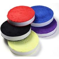 1 Reel 10M Towel glue grip,cotton badminton tennis overgrips ,badminton racket overgrips