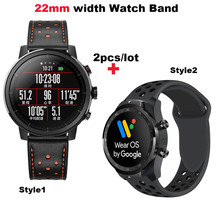 22mm Bracelet Strap For Xiaomi Huami Amazfit GTR 47mm Pace Stratos 2 2s Watch Wrist Band For Samsung Gear S3 Galaxy 46mm Correa amazfit leather bracelet watch band 22mm for xiaomi huami amazfit pace stratos 2 correa wrist strap for samsung gear frontier s3