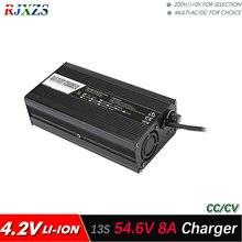 Зарядное устройство 54,6 в, 8 А для 13S литий полимерных/литий ионных аккумуляторов, умное зарядное устройство с поддержкой режима CC/CV, 4,2 в * 13 = 54,6 в