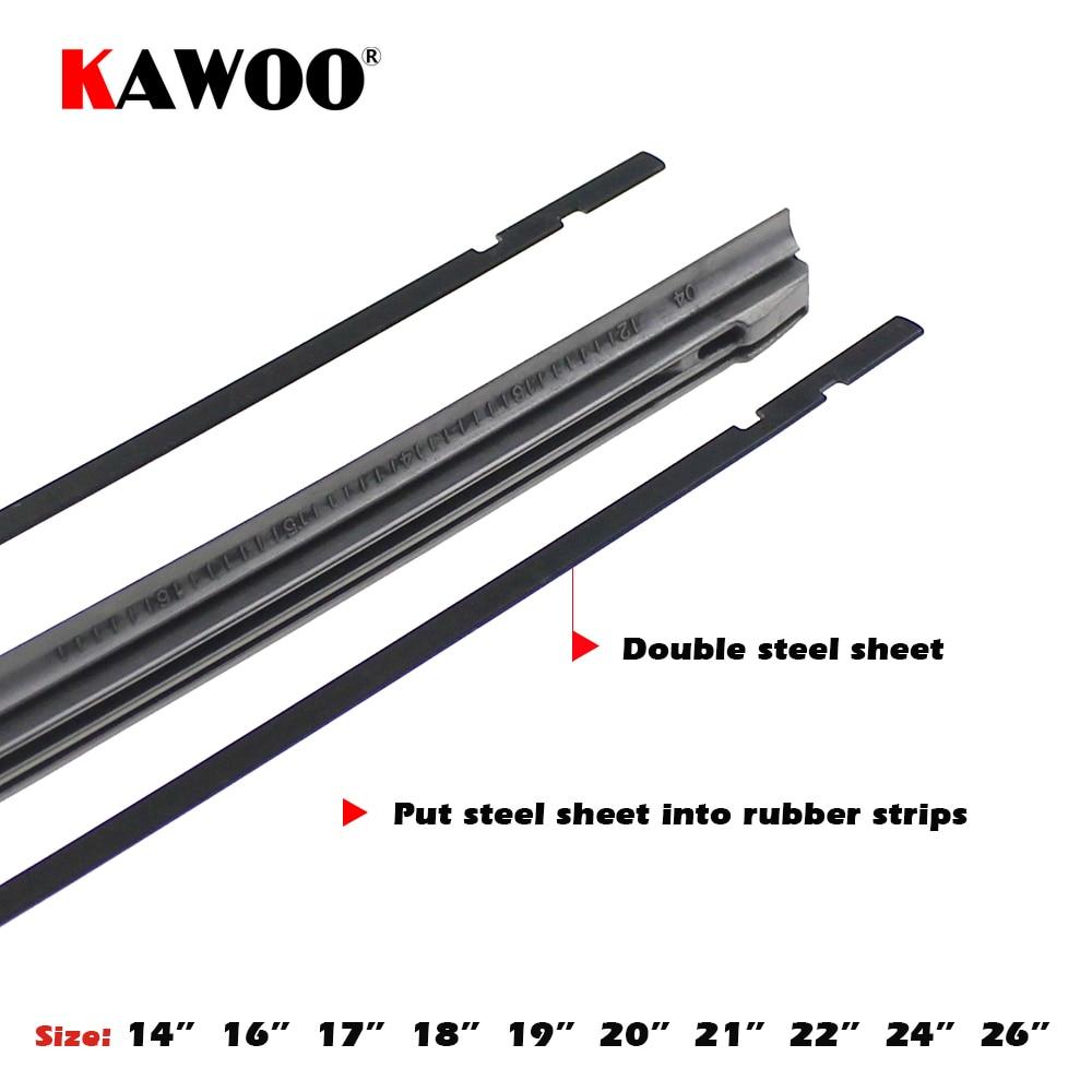 KAWOO Araba Araç Ekleme Kauçuk şerit Silecek Bıçak (Dolum) 8mm - Araba Parçaları - Fotoğraf 4