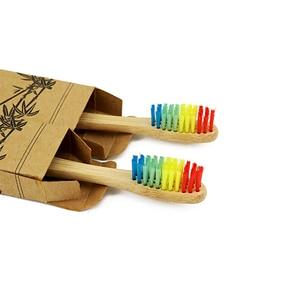 1139 1pc free shipping Eco-Friendly Medium Bristle Bamboo Toothbrush