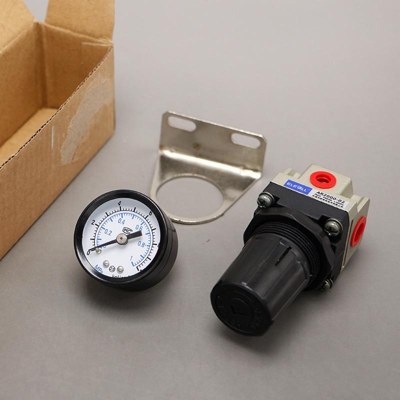 Pneumatic Air Pressure Regulator AR2000-02 Thread 1/4 inch 13mm male thread pressure relief valve for air compressor