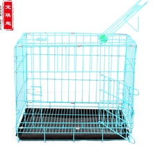 Pet cage folding dog cat chickens and rabbits pigeon sized dogs bold