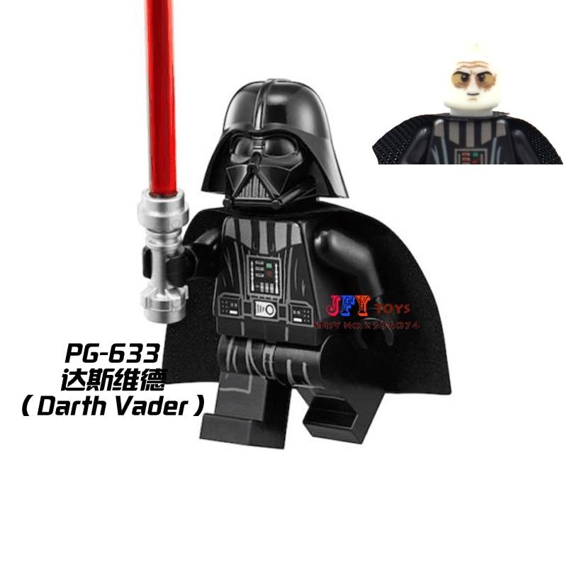 50pcs starwars Darth Vader Collection building blocks bricks friends for girl boy kids children toys brinquedos menina