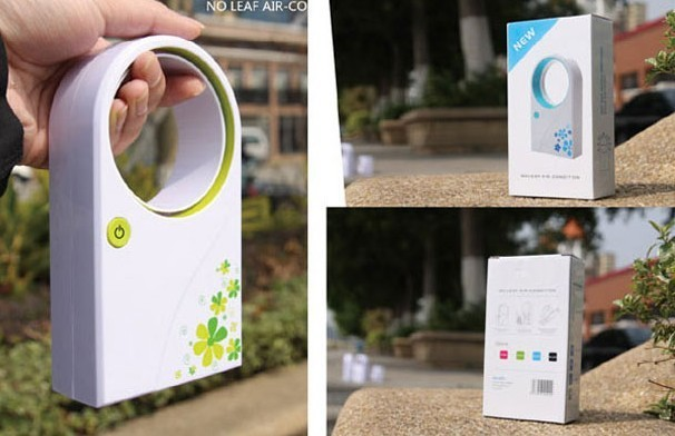 Free shipping No Leaf Air Condition Fan