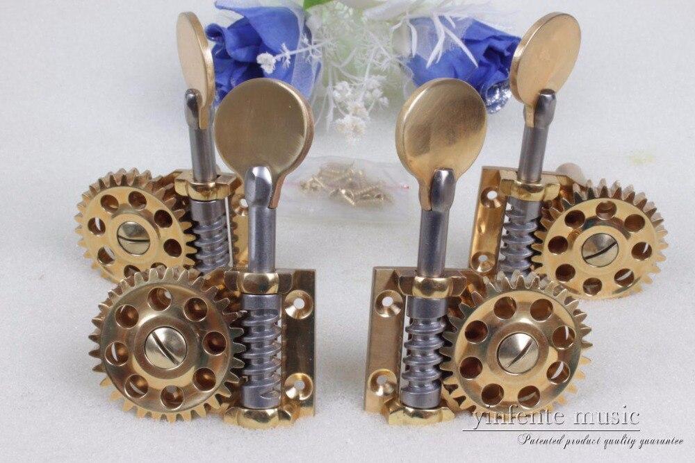 Nouveau 1 set Double Basse Pièces, haut grade Grande roue basse Peg En Laiton #510