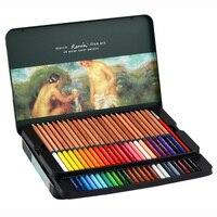Renoir Colored Pencils 24/36/48/72 Colors Fine Art Professional Water Soluble Colour Pencil Set for Drawing Art Supplies