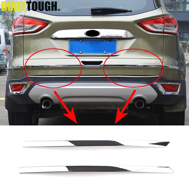 Rear Trunk Tailgate Lid Cover Trims Accessories For Ford kuga Escape 2013-2019
