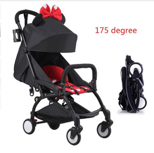 Original Baby Yoya Stroller 175 Degree Wagon Poussette Portable Folding Baby Stroller Lightweight Pram Babyzen yoyo Stroller цена