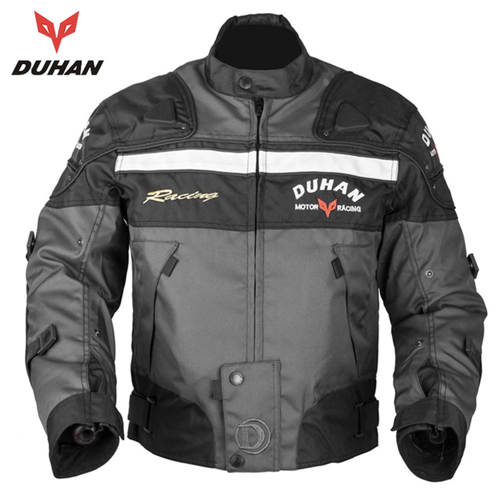 Prix pour DUHAN Moto Équitation Armure Motocross Off-road Racing Veste Hommes Rider Vêtements Moto Protecteur pour L'hiver et En Automne