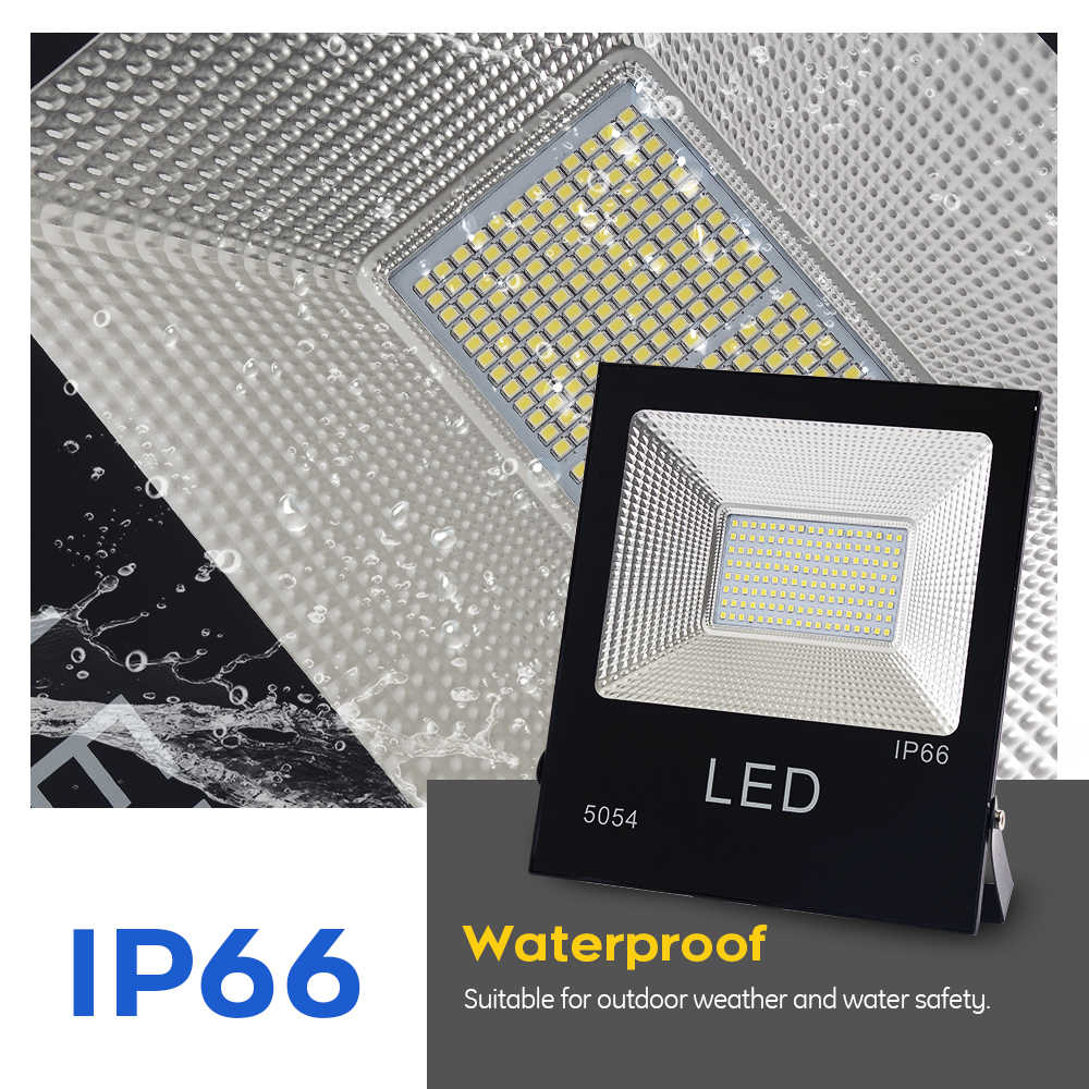 LUCKYLED Led Flood Light 10W 20W 50W 100W 150W 220V Led Reflector Waterproof Floodlight Outdoor Wall lamp Led Spotlight