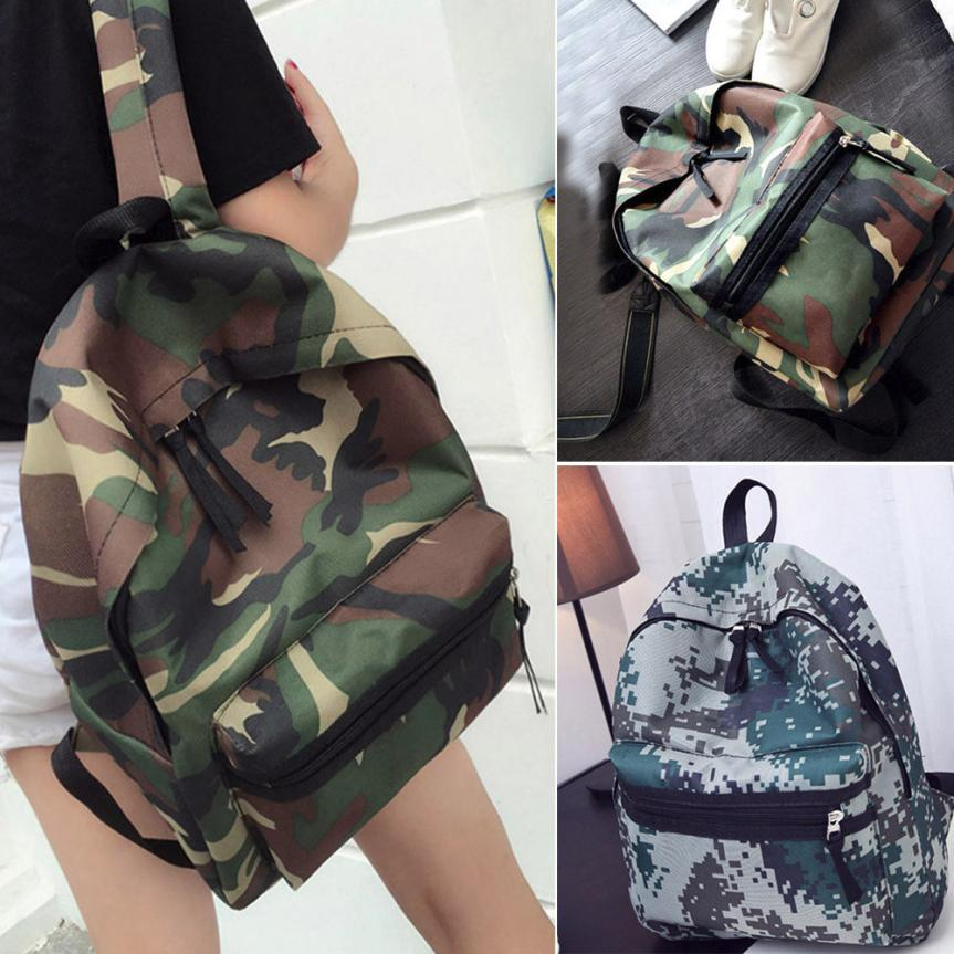 MOLAVE Backpacks high quality Girls Boys Geometric Print Zipper Backpack School Fashion Shoulder backpack women mar27