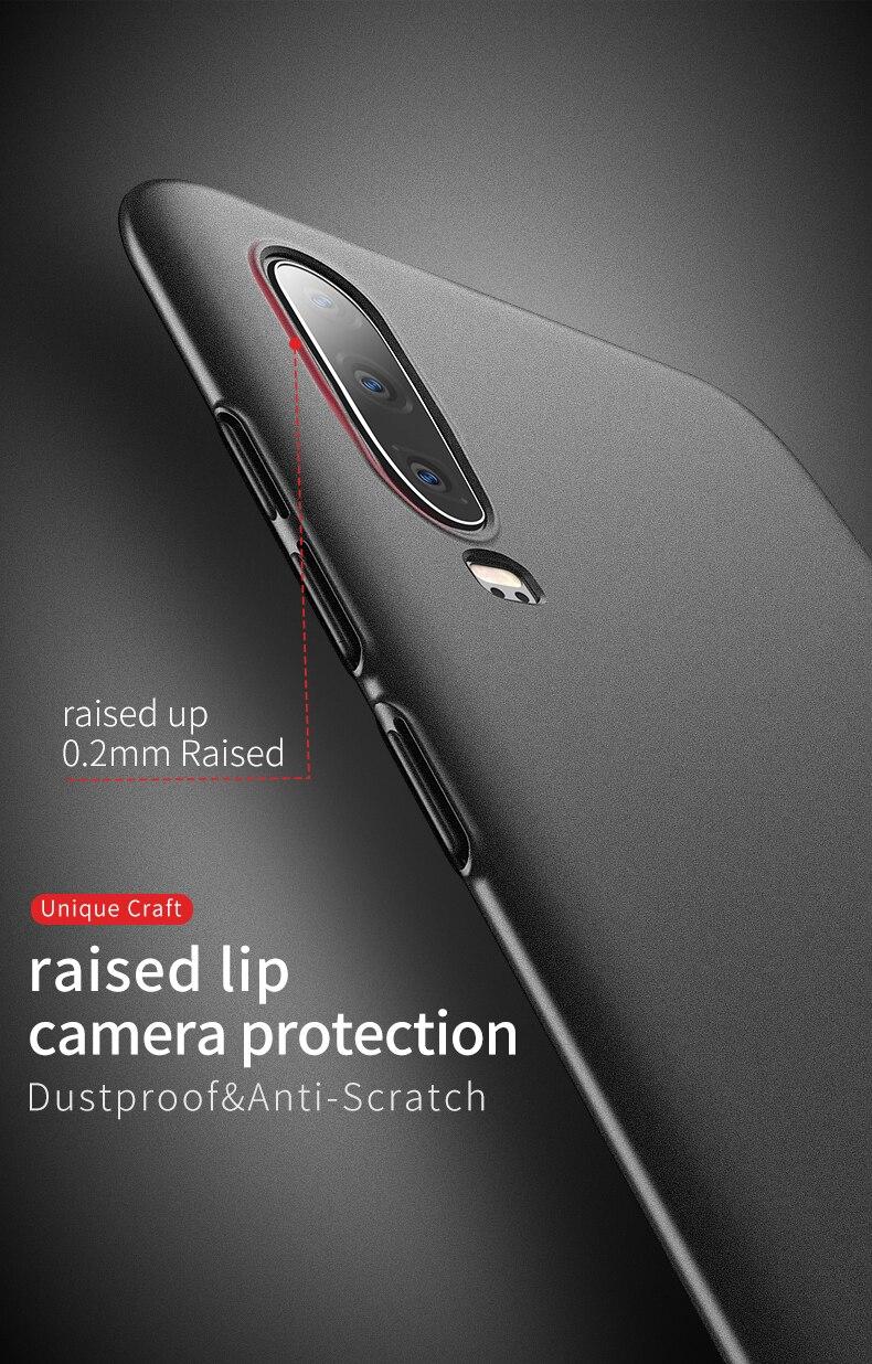 Huawei P30 Case for Huawei P30 Pro Case Hard P30 Lite Cover Slim Matte Back Cover Fingerprint Proof Fundas (9)