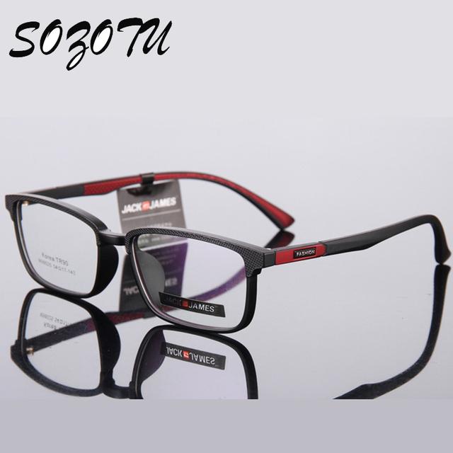 TR90 Armação de óculos Mulheres Computador Vidros Do Olho Homens Armação de óculos Para O Sexo Masculino Armacao oculos de YQ183 Transparente das Mulheres do Sexo Feminino