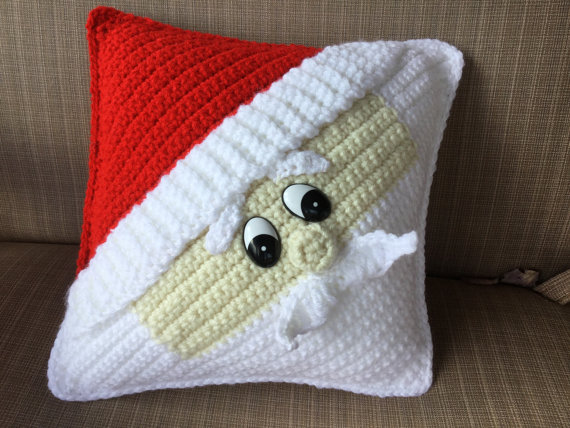 ФОТО Decorative Santa Pillow decorate home baby use