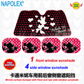 car accessories  minnie mouse front window sunshade Foils Windshield Visor Cover UV Protect Car Film sun shade freeshipping