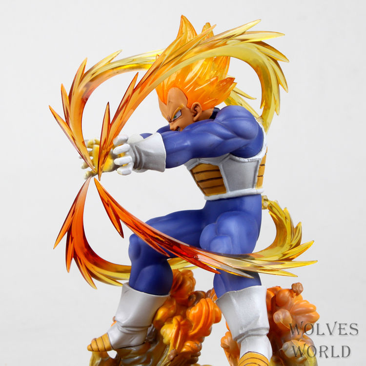 wholesale Anime Dragon Ball Z Super Saiyan Vegeta Battle