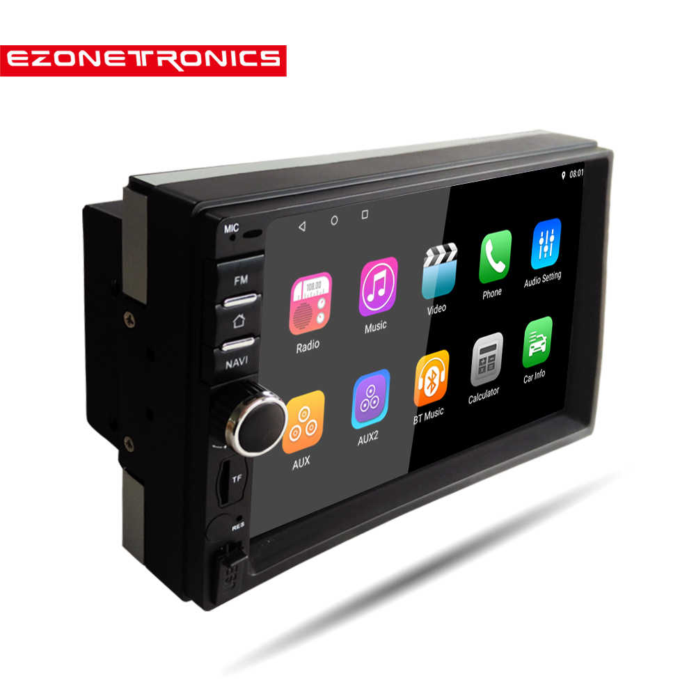 2Din Android 8.1 Quad Core DDR2G-32G Mobil Radio Pemutar Video Multimedia Cermin Link Universal WIFI Bluetooth Auto Stereo GPS RDS