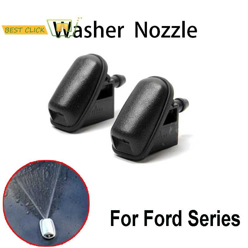 MISIMA Windscreen Window Wiper Washer Spray Nozzle Jet For Ford Focus MK 3 For Mondeo MK4 C-max Fiesta MK 5