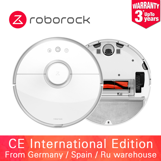 2019 Roborock Vacuum Cleaner 2 Wet and Dry S50 S55 Xiaomi Robot Mopping Sweeping Dust Sterilize Smart Planned Wash Suction...