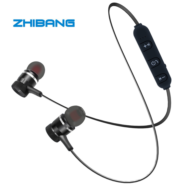 for sport Earbuds with microphone headset stereo headphone  Bluetooth earphone Wireless headphones