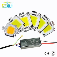 LED COB Lamp Chip With LED Dirver 10W 20W 30W 50W 100W LED Integrated Chip AC180-265V Smart IC 220V 240V For DIY LED Floodlight(China)