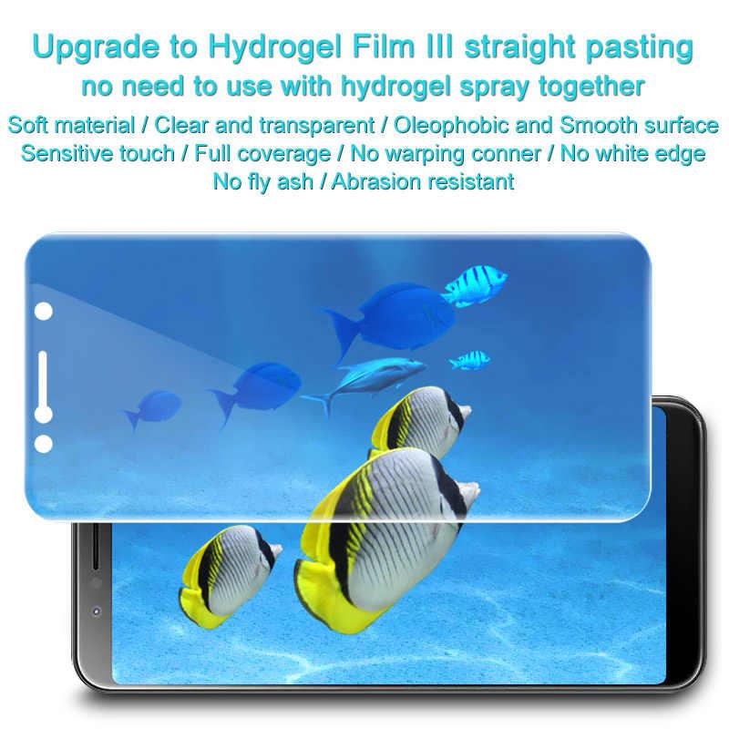 Imak 2pcs Anti Glare Hydrogel Film 3th Gener for Asus Zenfone Max Pro M1  ZB601KL ZB602KL 3D Full Cover Screen Protector ZB601KL