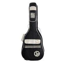 Высокий класс 40 дюймов 41 дюймов старший гитара мешок, мешок фолк-гитара, утолщение гитара рюкзак, акустическая гитара мешок водонепроницаемый