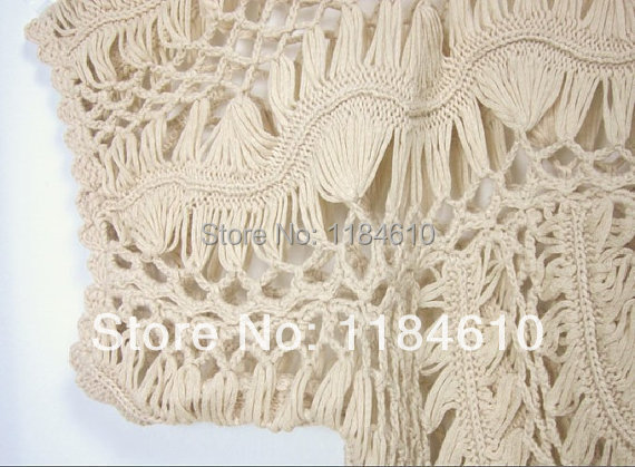 f1a2339a3b Womens Lace Tunics Swimsuit Cover Up Beach Dress Hairpin Crochet Cutwork  Cape Sleeves Blouse-in Blouses & Shirts from Women's Clothing on  Aliexpress.com ...