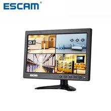 ESCAM T10 10 дюймов TFT LCD 1024×600 Монитор с VGA HDMI AV BNC USB для ПК CCTV Безопасности камера