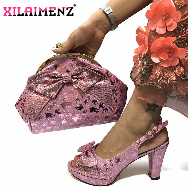 Image 2 - Special Design African Shoes With Matching Bags Set African 