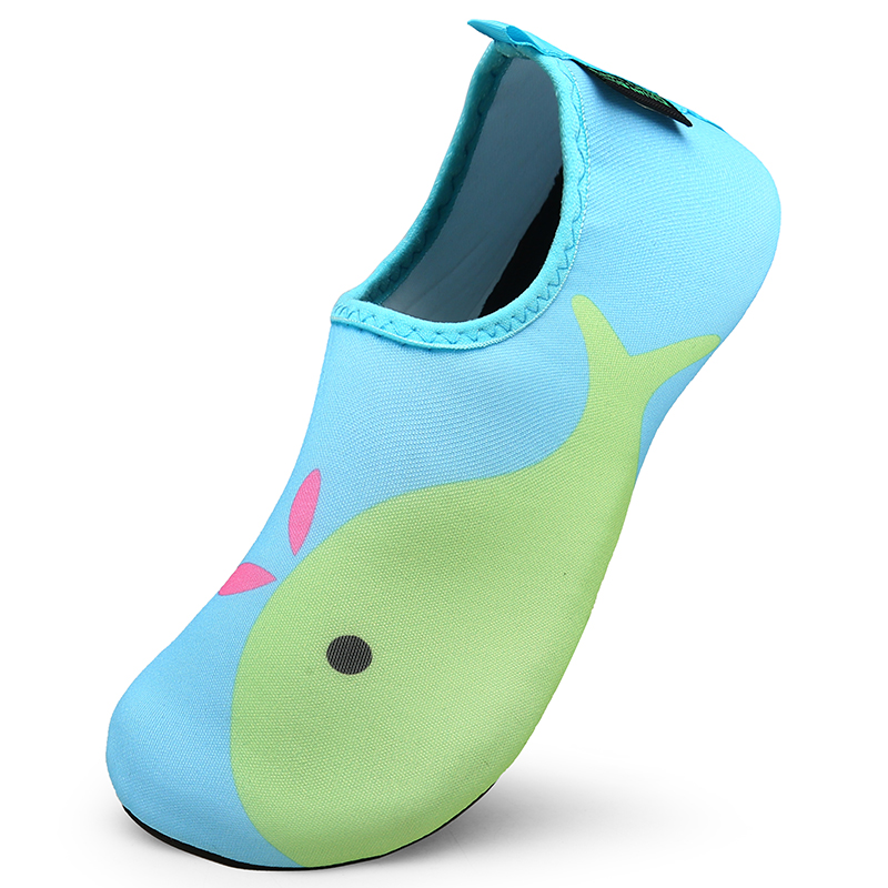 Summer Water Shoes Kids Sneakers Breathable Aqua Shoes Boys Girls Beach Sandals Barefoot Outdoor Slippers Diving Swimming Socks